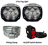 Typhon Designer Fog Light For All Cars and Bikes 2 Pcs