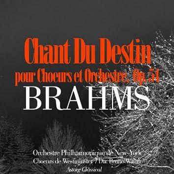 Brahms: Chant du destin, Op. 54 pour chœurs et orchestre