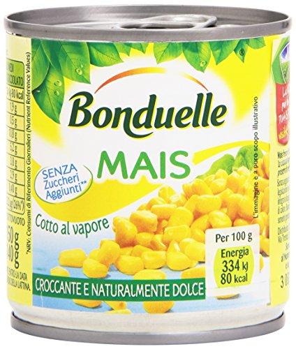 Bonduelle - Mais Cotto Al Vapore, Senza Zuccheri Aggiunti - 150 G