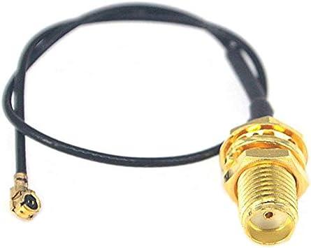 Othmro - Cable de conexión WiFi de 0,5 m, 1 unidad, M12,RG178 ...