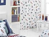 CAÑETE - Visillo con ollaos Monsters 140x270 cm