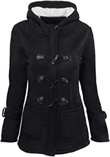 omniscient Women Windbreaker Outwear Warm Wool Long Coat Jacket Trench