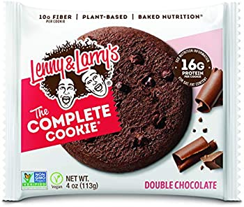 12 Pack Lenny & Larry's The Complete Cookie 16g Plant Protein, 4 Ounce
