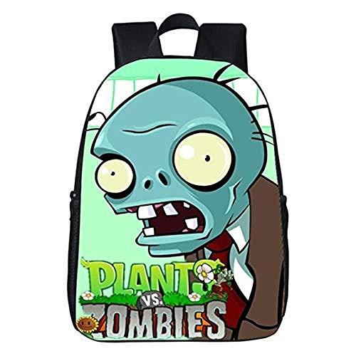 Plants Vs Zombies Rucksack, 13-16 Zoll GW2 Rucksack, Jugendschulrucksack, Leichter Laptop Rucksack (Zombies1,31 * 14 * 45 cm (17 Zoll))