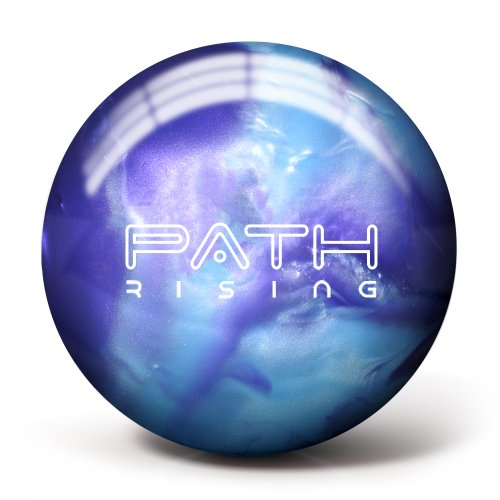 Pyramid Path Rising Bowling Ball (Purple/Steel Blue, 10lb)
