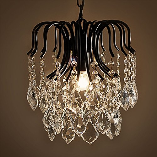 Slaapkamer Armaturen -Crystal Kroonluchter Luxe Crystal Chandelier Bedroom Restaurant Entrance Aisle Creative Lampen Wandlamp Verlichting (Color : B)