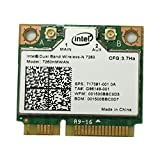 i10Gb, scheda di rete Intel Dual Band Wireless-N 7260, 2x2 (2 trasmettitori, 2 ricevitori), AGN e Bluetooth 4.0,p/n 7260HMWAN