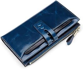 GUMAOPAJIAAAqb Monederos de Mujer, Women Wallets Genuine Leather Female Wallets With Phone Pocket Ladies Purse Hasp Women ...