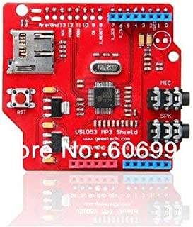 Flyme 5pcs/lot VS1053 MP3 Module Development Board with Power Amplifier Decoder Board Onboard Recording Function