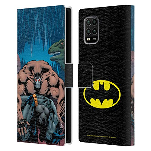 Head Case Designs Oficial Batman DC Comics Knightfall Volumen Uno Fundas de cómics Famosas Carcasa de Cuero Tipo Libro Compatible con Xiaomi Mi 10 Lite 5G