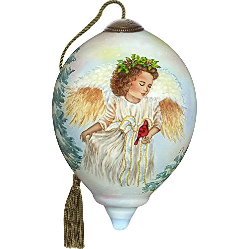 Ne'Qwa Winter Guardian Angel Ornament