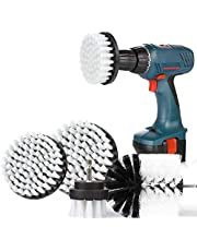SAFETYON Cepillo de Taladro Eléctrico 4 Pieces Multifuncional Brocha para Limpiar Baño, Piso, Azulejo, Cocina