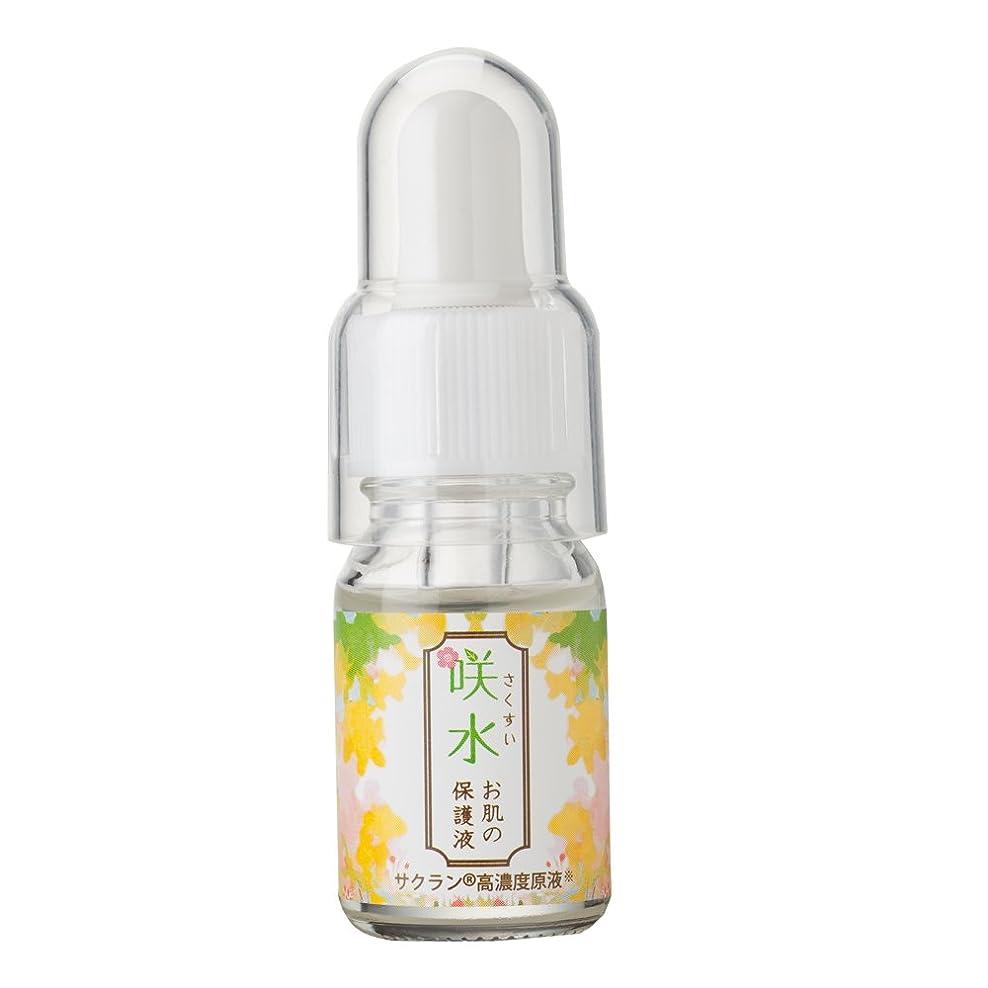 統計くつろぐ感動する咲水お肌の保護液 10ml  保湿 美容液 顔 スイセンジノリ サクラン リバテープ製薬公式