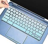 Tastaturabdeckung für HP Chromebook x360, HP Chromebook 11 G2, G3, G4, G5, G6 EE G7 EE, HP Chromebook 14-db/ca/ak/DA 14B-CA 14a-na Serie, HP Chromebook 14 G2 G3 G4 Tastatur-Hülle, Ombre Mint