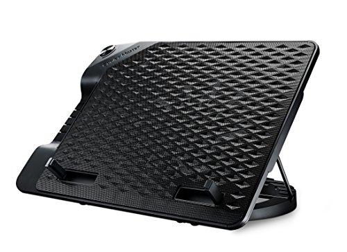 """Cooler Master ERGOSTAND III Base di raffreddamento per PC portatili 'Angolo Regolabile, USB Hub, Supporta Computer Portatili fino a 17""""' R9-NBS-E32K-GP"""