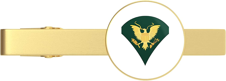 HOF Trading Gold US Denver Mall Army Tie Bar Ranking TOP5 Specialist Clip Vetera