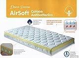 MAXIOCCASIONI Matelas lit, Airsoft Coton antibactérien, 60x 125x 10cm, de...