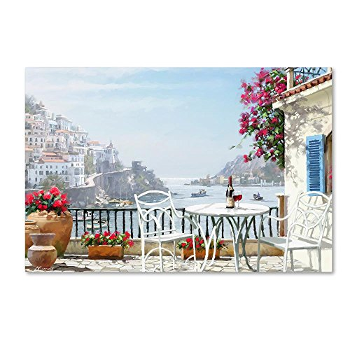 Amalfi Coast by The Macneil Studio, 16x24-Inch Canvas Wall Art