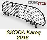 ERGOTECH Divisorio Griglia Rete Divisoria RDA65-S8 ksk016, per Trasporto Cani e Bagagli. Sicuro, Confortevole, garantito!