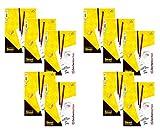 Idena 10384 Zeichenkarton, 50 Bogen, DIN A4, 250 g/m², FSC-Mix (10 Blöcke/Weiß)