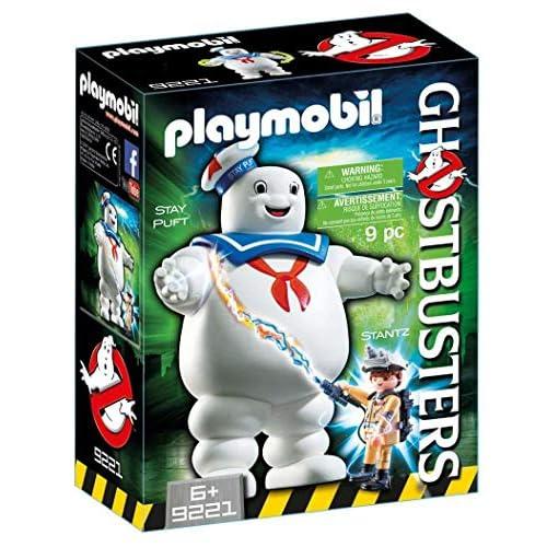 Playmobil Ghostbusters 9221 - Omino Marshmallow e Stantz, dai 6 anni