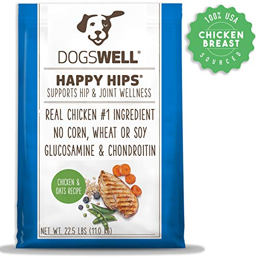 DOGSWELL Happy Hips Dry Dog Food with Glucosamine...
