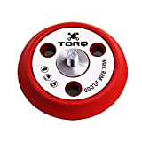Torq BUFLC_200 R5 Dual-Action Backing Plate with Hyper Flex Technology, Red (3 Inch)
