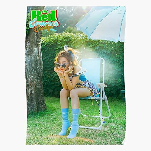 Bands Comeback Velvet Summer Reveluv Red Redvelvet Pop K Kpop FlavorI Impressive Posters for Room Decoration Printed with The Latest Modern Technology ! Customize