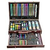 Niños para Dibujar Juego de Pintura 130 lápices de Colores de Agua para Adultos Libros para Colorear útiles Escolares Kit de Suministros de Arte y Artista (Color : Natural, Size : Free Size)