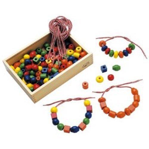 Sapin Malin - SM16233 - Loisir Créatif - Boite 125 Grosses Perles - Bois