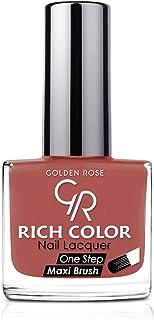طلاء اظافر رتش كولر من جولدن روز، لون بني رقم 147، Cnvs-S2-0113 Brown No142