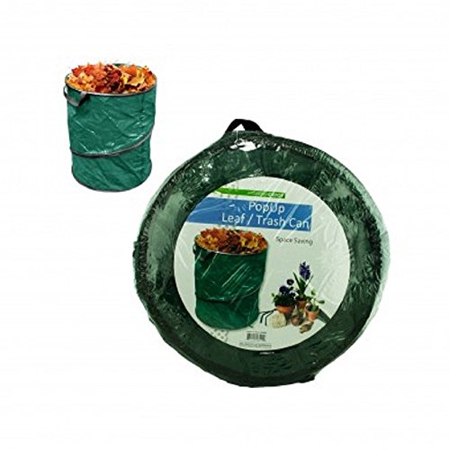 Garden Depot Pop Up Leaf Trash Can 13 Gallon Easy Storage, Collapsible Polyester Bags That are Space Saving and Convenient Ways of Disposing of Leaves and Trash