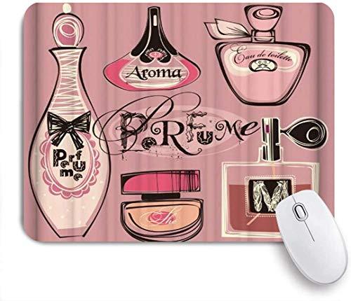 Mode Frau Make-Up Parfüm Luxus Verschiedene Mausunterlage,Schreibtischunterlage,Gummiunterseite Maus Pad,Mausmatte