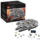 LEGO Star Wars - Millenium Falcon, Maqueta de Construcción del Halcón Milenario de la Guerra de las Galaxias, Edición...