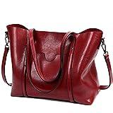 Frauen Wasserdichte Damen Umhängetasche Henkeltaschen Tasche Schultertasche Shopper Satchel Handtaschen Tote Shoulder Bag