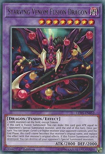 Yu-Gi-Oh! - Starving Venom Fusion Dragon - LED5-EN052 - Rare - 1st Edition - Legendary Duelists: Immortal Destiny