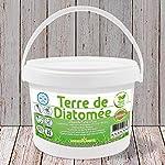 HYDROPLANETE Terre de Diatomée Blanche 200g 1kg 2kg 10kg 20kg - Grade Alimentaire, Haute pureté et Utilisable en Agriculture Biologique - Origine France (1kg) #2