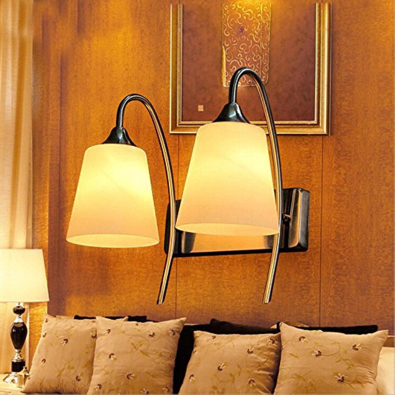 sin mínimo Lámpara de parojo creative lámpara de parojo dormitorio dormitorio dormitorio moderno inicio cabecera parojo de vidrio lámpara LED lámpara de parojo doble pasillo  toma