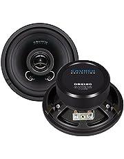 Crunch DSX120 altavoz audio 2-way 160 W Round - Altavoces para coche (2-way, 160 W, 80 W, 4 Ω, 120 mm, 55 mm)