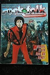ROCK & FOLK 207 COVER MICHAEL JACKSON MICHAEL ET LES FOUS DU FUNK ! CLASH Tony Joe White Dolly Parton