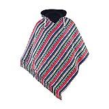 poncho hombre   algodón & polar   poncho invierno peruano   reversible   poncho mexicano ropa hippie capa