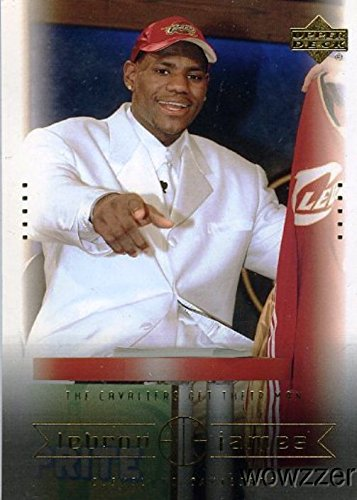 LeBron James 2003 Upper Deck Box Set #8 ROOKIE Card in Mint Condition! NBA and Olympic World Champion! Cleveland Cavaliers!Shipped in Ultra Pro Snap Card Holder to Protect it!