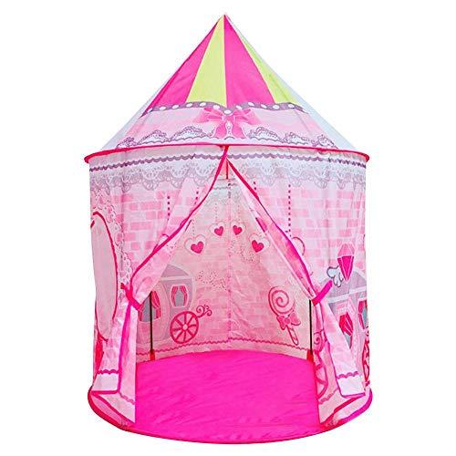 Jinclonder Kindertent prinses tent liefde vlinder binnen en buiten prinses speelhuisje bal zwembad tent huisjurk eenvoudig op te bouwen en te reinigen comfortabel te dragen