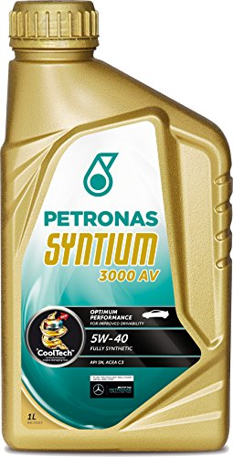 PETRONAS Syntium 3000 AV Motoröl Öl 5W40 1L 1Liter ACEA C3 API SN