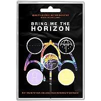 BRING ME THE HORIZON ブリングミーザホライズン (新譜発売記念) - THAT'S THE SPIRIT 5個セット / バッジ 【公式/オフィシャル】
