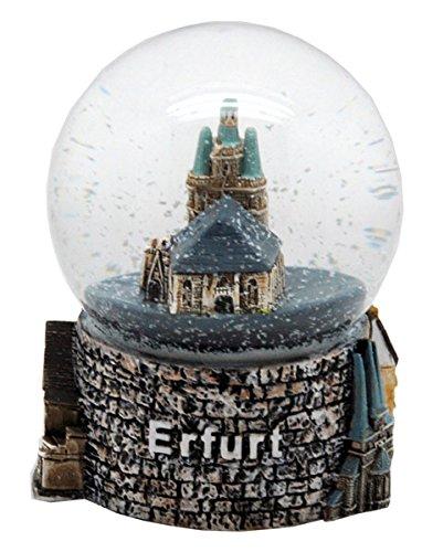 30028 - Souvenir Schneekugel Kulturstadt Erfurt