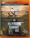 Bill O'Reilly's Legends and Lies: The Real West (MP3 Audio CD) and Bill O'Reilly's Legends and Lies: The Patriots (MP3 Audio CD)