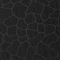 装飾的な敷物の入口の敷物のポリプロピレン/ Caoの小石黒75 x 45 cm