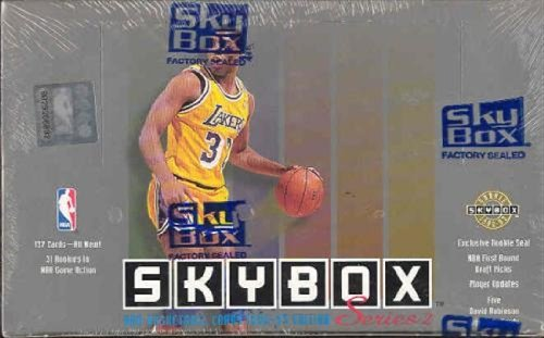 Review 1992-93 Skybox Series 2 Basketball NBA Sealed Box 36 Packs