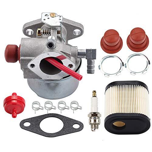 Venseri 640350 640271 640303 Carburetor for Tecumseh LEV100 LEV105 LEV120 LV195EA LV195XA Toro 20016 20017 20018 6.75HP Recycler Lawn Mower Lawn with Air Filter